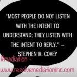"""Habit #5 """"Seek First to Understand, Then be Understood"""""""